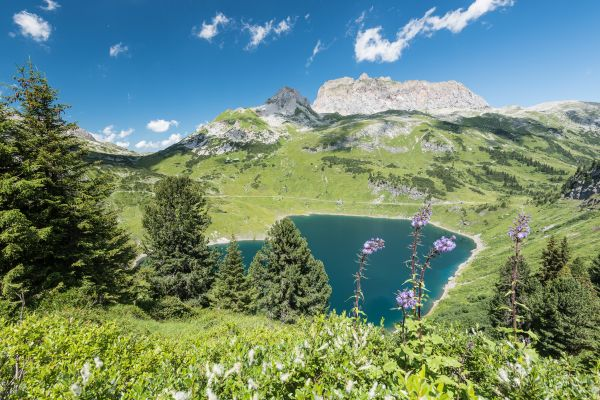 Formarinsee in Lech Zürs